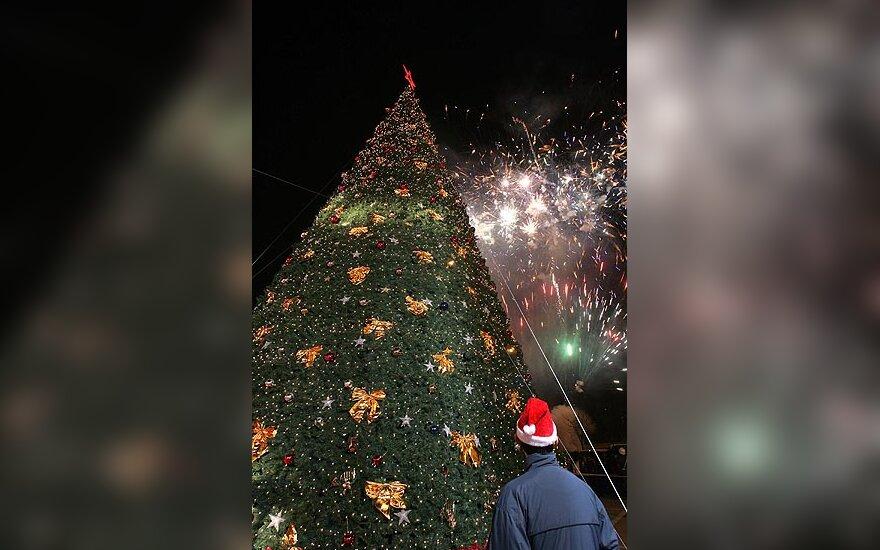 Kalėdų eglutė Kinijoje