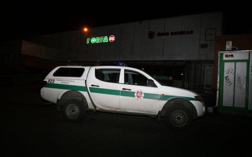 В Вильнюсе вновь ограблен магазин-ломбард