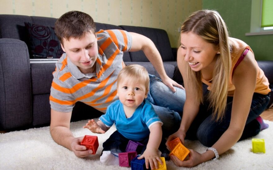 Литовские семьи впервые усыновили больше детей, чем иностранцы