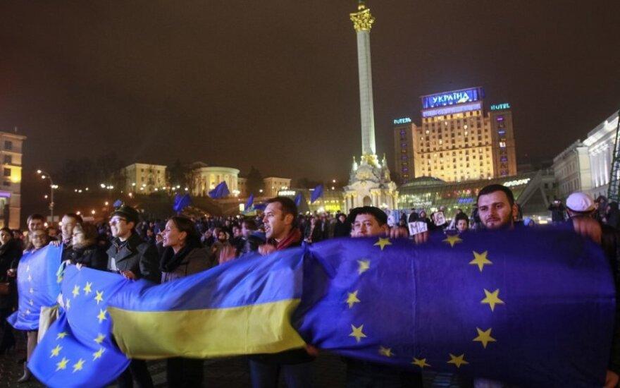 Украина, Киев, протест