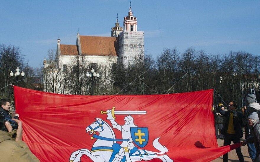 """Флаг Витиса – опасность для """"ленинских столбов"""""""