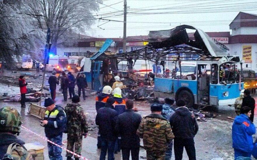 Следственный комитет: взрыв волгоградском троллейбусе устроил мужчина-смертник