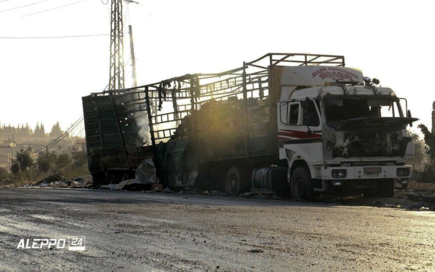 Bellingcat: на месте атаки на гумколонну в Сирии найден фрагмент российской бомбы