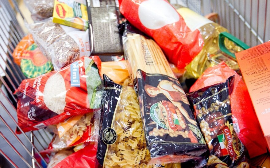 """Клиенты Maximа пожертвовали """"Продовольственному банку"""" продукты за 17 000 евро"""