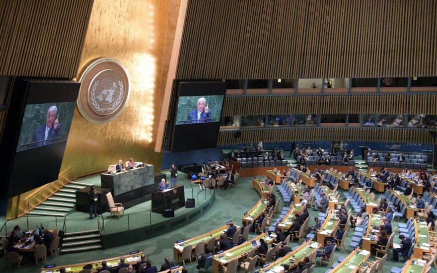 Эстония избрана непостоянным членом Совбеза ООН на два года