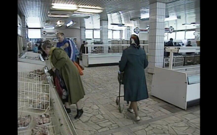 Январь 1991-го: повышение цен, закрытые магазины и угроза парламенту