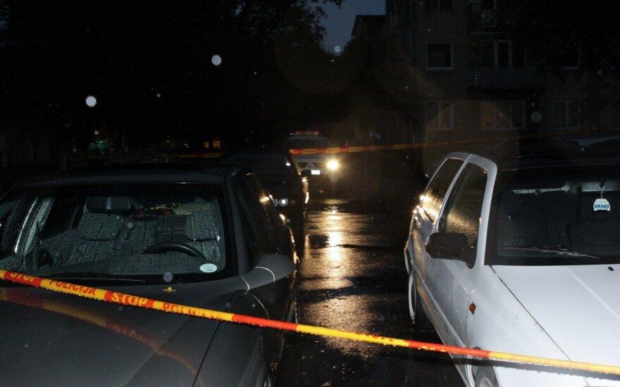 Во время взрыва в Каунасе были повреждены два автомобиля