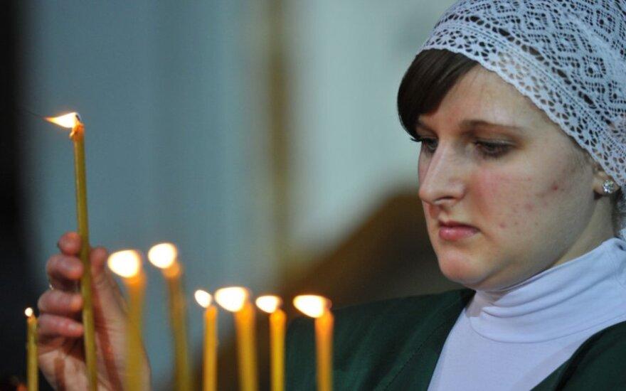 Только каждый второй русский Литвы исповедует православие