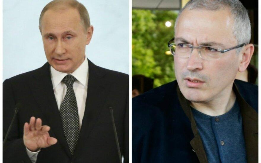 Vladimir Putin, Mikhail Khodorkovsky