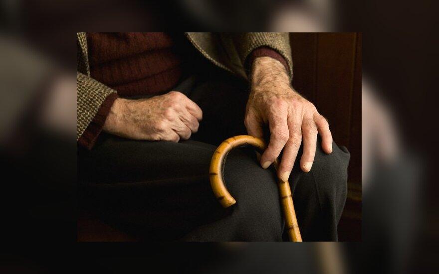 В Литве стремительно растет количество пожилых людей