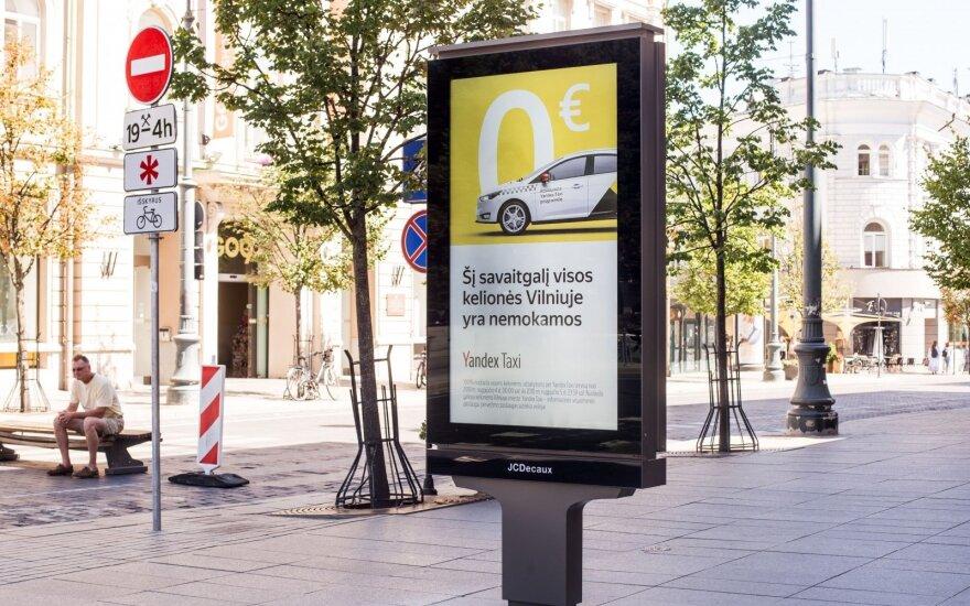 Жителей Литвы призывают и в дальнейшем не пользоваться услугами Yandex. Taxi