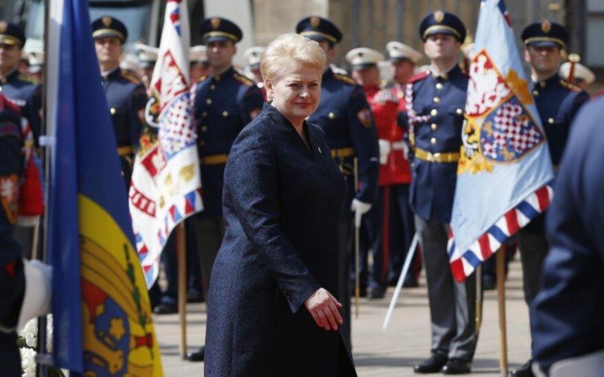 D. Grybauskaitė aukšto lygio ES ir Rytų partnerystės šalių vadovų susitikime Prahoje