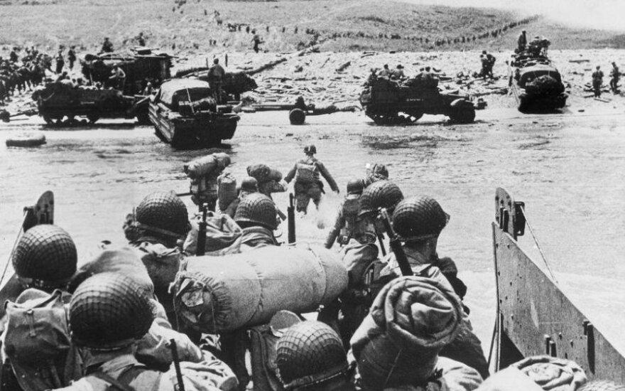 В Нормандии отмечают годовщину высадки союзников