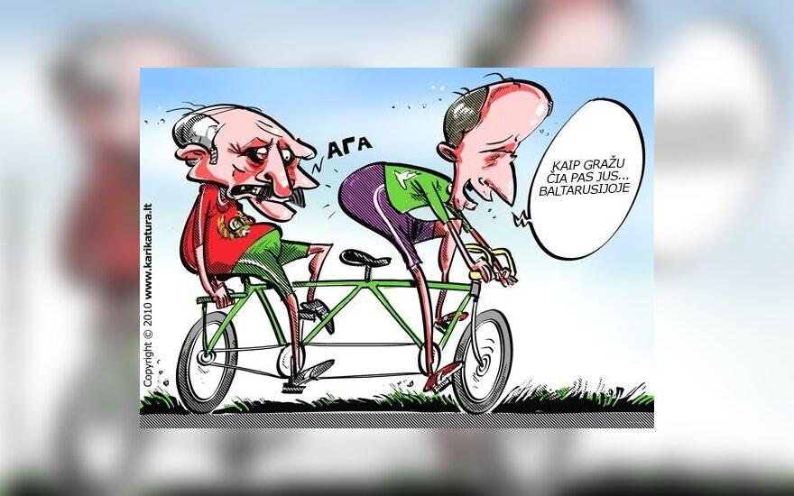 Aleksandras Lukašenka ir Andrius Kubilius