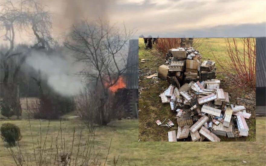 Странный инцидент в Шальчининкском районе: контрабандисты забаррикадировались от пограничников