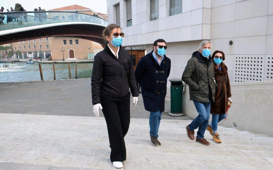 МИД Литвы рекомендует отправляющимся в Италию соблюдать меры безопасности
