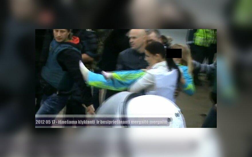 Дочь Станкунайте передана матери, задержаны 39 человек