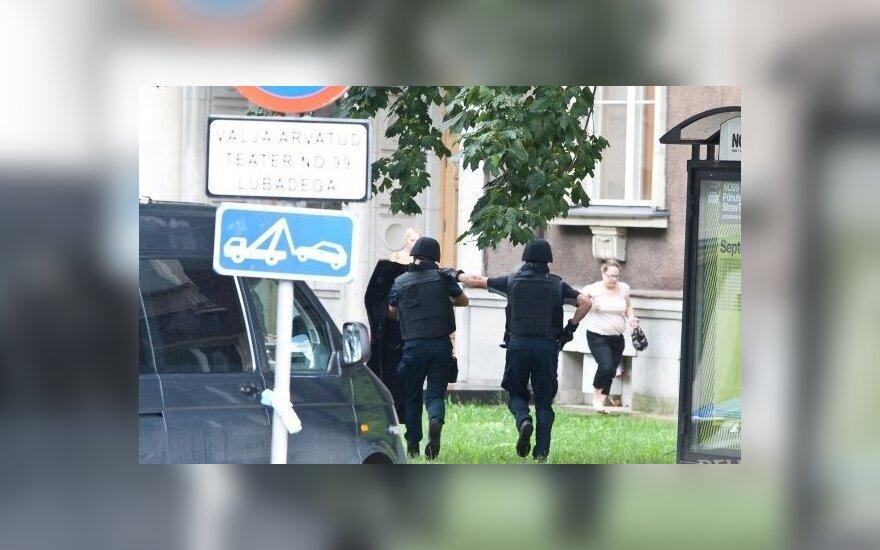 Estijos gynybos ministerijoje aidėjo šūviai
