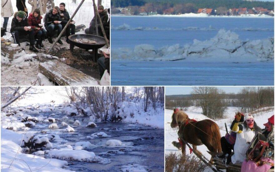 Žiemos pramogos Lietuvoje