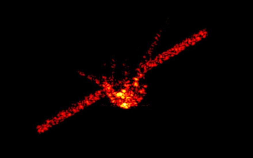 Radarai užfiksavo krentantį Tiangong-1