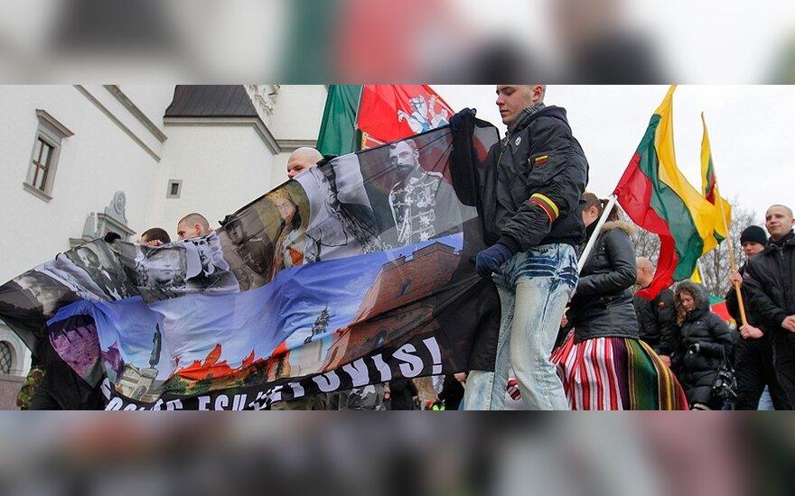 Кубилюс: шествие радикалов дискредитирует настоящих патриотов