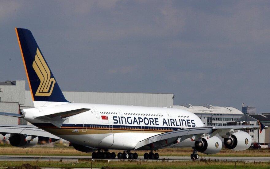 При посадке загорелся Boeing 777 авиакомпании Singapore Airlines