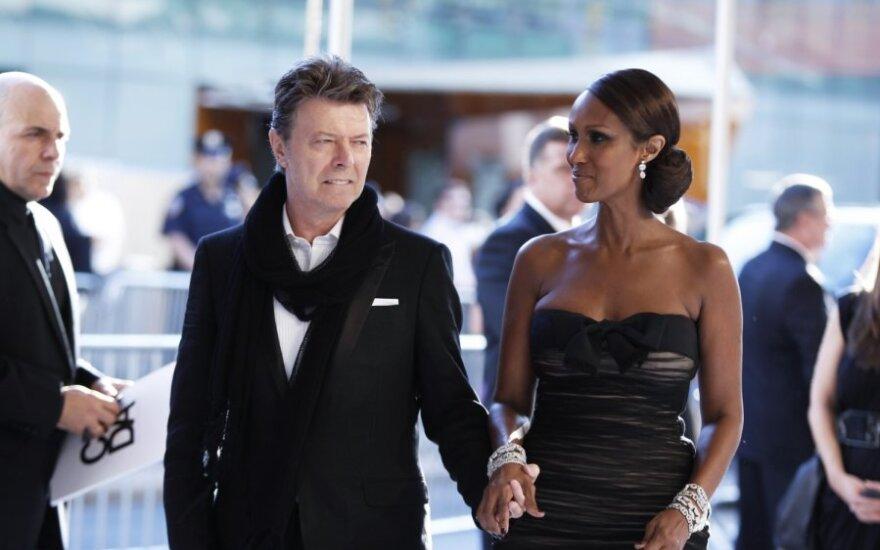 David Bowie ir Iman