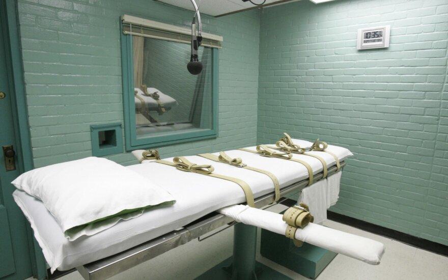 Mirties bausmės kambarys kalėjime Teksase (JAV)