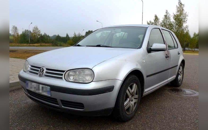 Na granicy z Polską złodzieje samochodu uciekali na bosaka