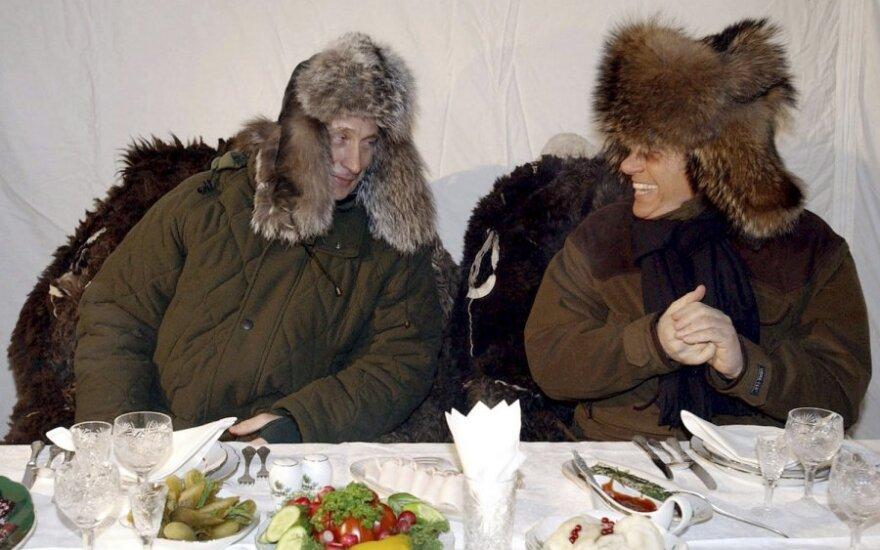 Vladimiras Putinas ir Silvio Berlusconi