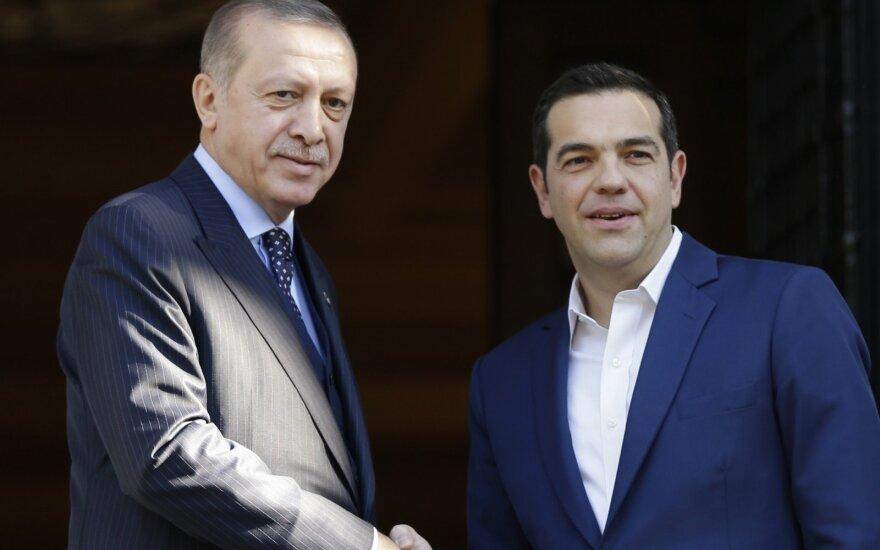 Alexis Tsipras, Recepas Tayyipas Erdoganas