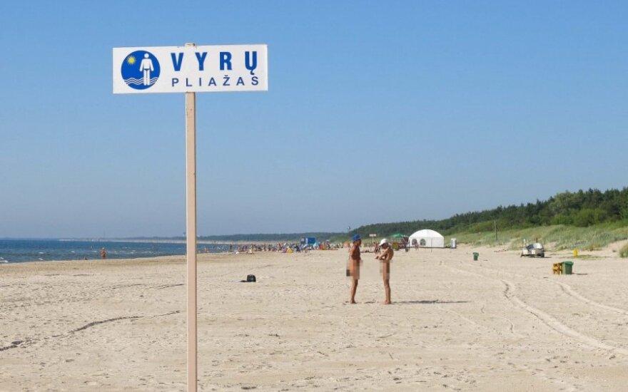 В Неринге появятся пляжи только для мужчин