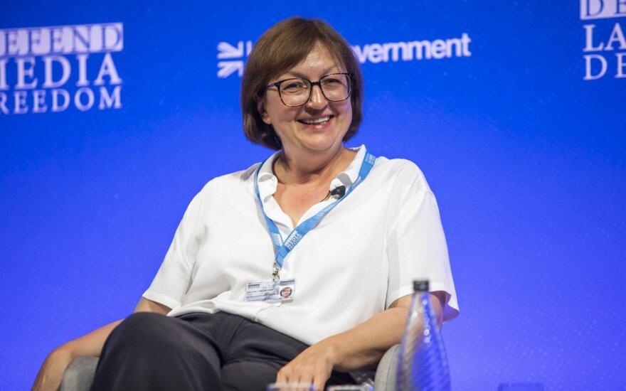 Галина Тимченко: работа журналиста всегда будет связана с угрозами - иначе это не журналистика
