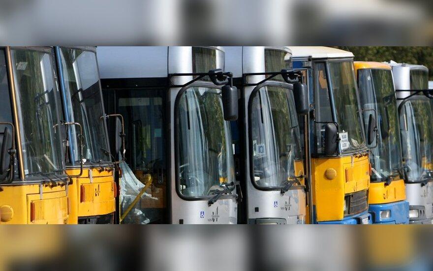 Жители Вильнюса испытают новые автобусы