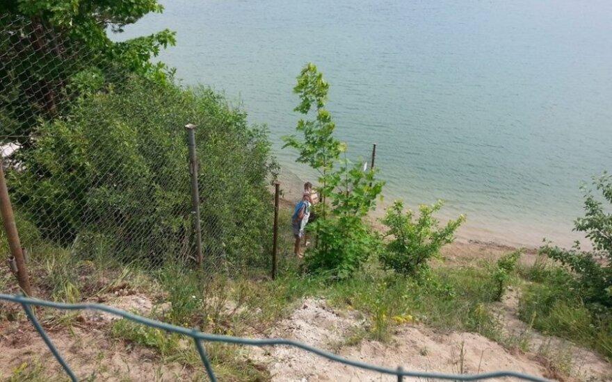 Tvora iki pat vandens viename iš Palangos (Kunigiškių) karjerų