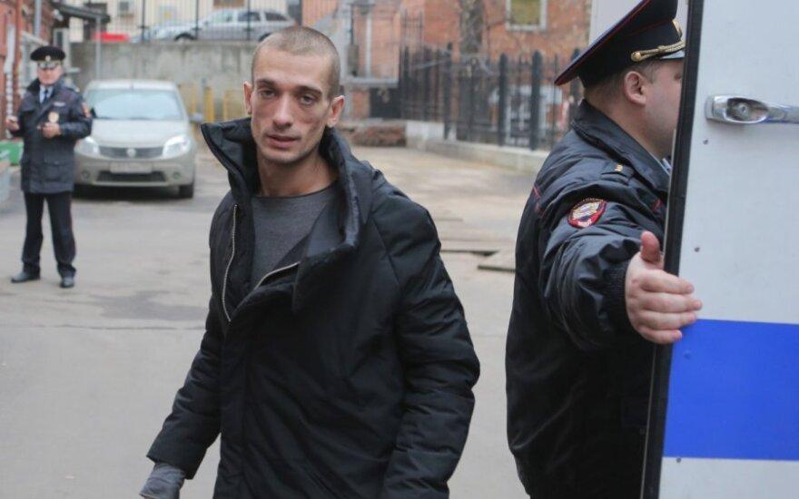 Художник Павленский переведен в тюрьму