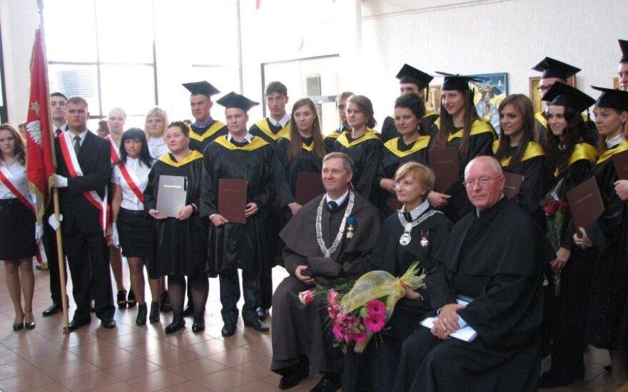 Inauguracja roku akademickiego w filii UwB w Wilnie