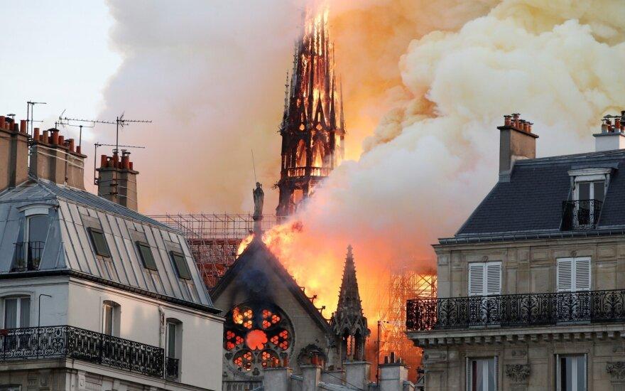 Объявлен конкурс проектов по воссозданию шпиля собора Парижской Богоматери