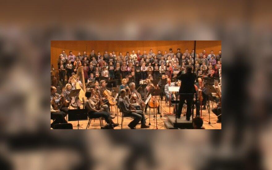 Московский Синодальный хор записал композицию Гребенщикова