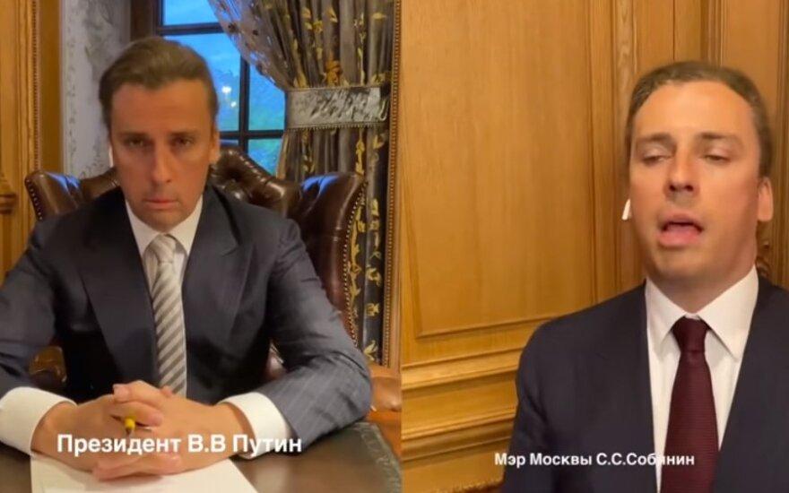 """Галкин представил """"беседу Путина и Собянина"""" по процедуре выгула москвичей"""
