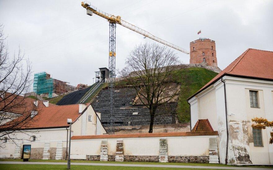 Правительство Литвы объявит экстремальную ситуацию в связи с горой Гедиминаса