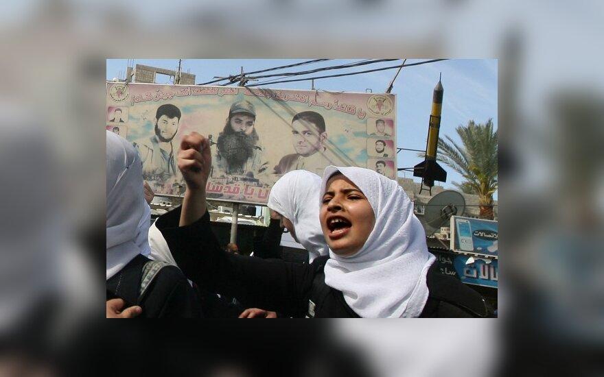 """Палестинцы устроили в Иерусалиме """"день гнева"""""""