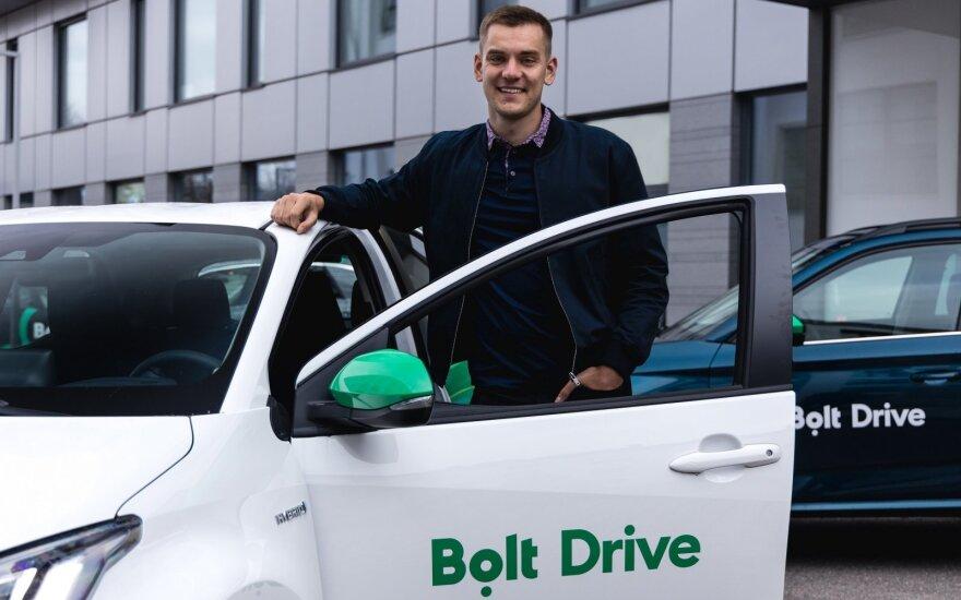 """""""Bolt"""" įkūrėjas Markus Villig"""