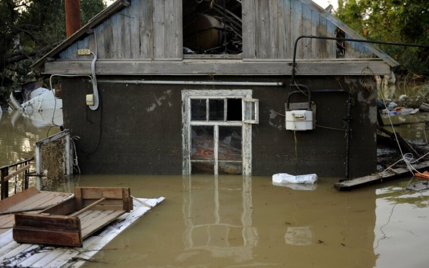 Potvynis Rusija Krasnodaras