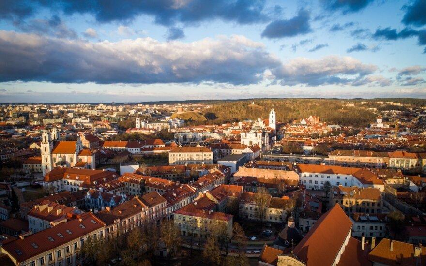 Vilniaus miesto panorama