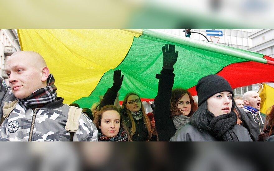 Литовские евреи удивлены тем, что было разрешено шествие радикалов