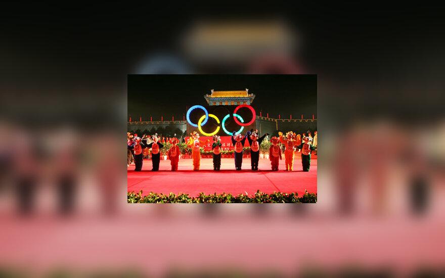 Pekinas, Olimpinės žaidynės, talismanai