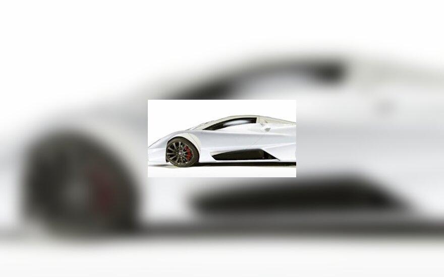 Самый мощный авто в мире назовут Shelby Tuatara