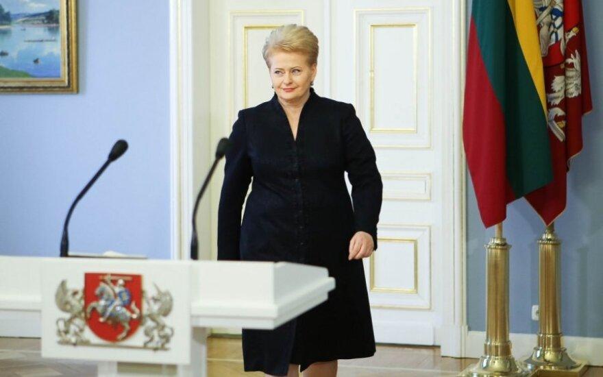 Dalia Grybauskaitė: Od 23 lat nie należę do żadnej partii