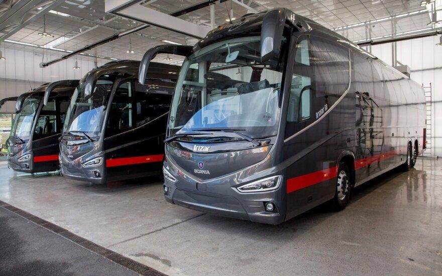 "Nauji ""Lux Express"" autobusai"